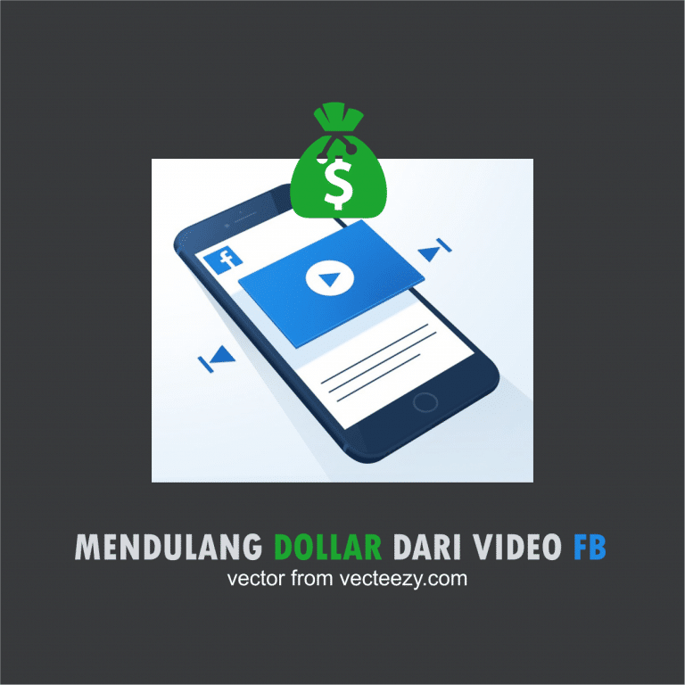 MENDULANG DOLLAR DARI VIDEO FB