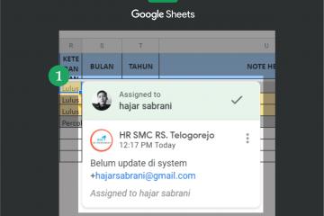 Cara mention orang di Google Sheet terbilang sangat mudah. Kalian hanya perlu membuka file excel kalian yang ada di Google Drive.